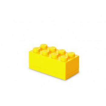 Mini cutie depozitare LEGO 2x4 galben (40121732)