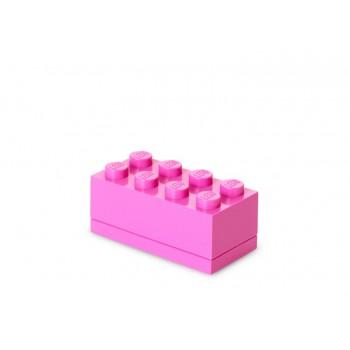 Mini cutie depozitare LEGO 2x4 roz (40121739)