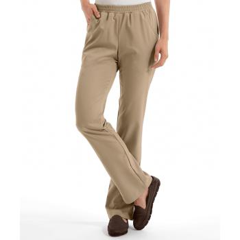 Pantaloni de dama beige (UD616102BISQU)