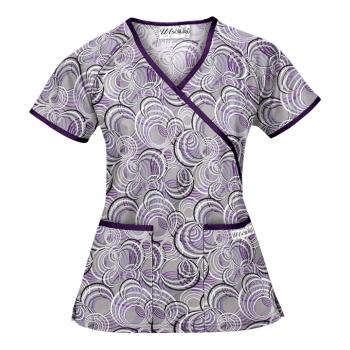 Bluza medicala 'Circle Vibes' (WT668CVD)